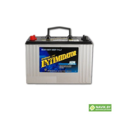 Аккумуляторная батарея тягово-стартерная Deka INTIMIDATOR 8AMU1R (AGM, 32Ah, 12V)