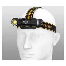 Налобный фонарь Armytek Wizard Pro Magnet USB Nichia Led (Теплый свет)