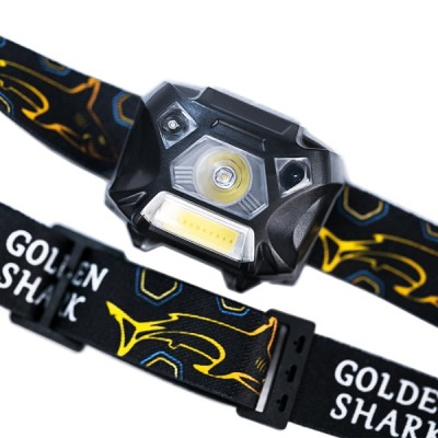 Налобный фонарь Golden Shark Hunter Plus с аккумулятором