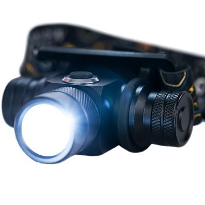 Налобный фонарь Golden Shark Profi с аккумулятором