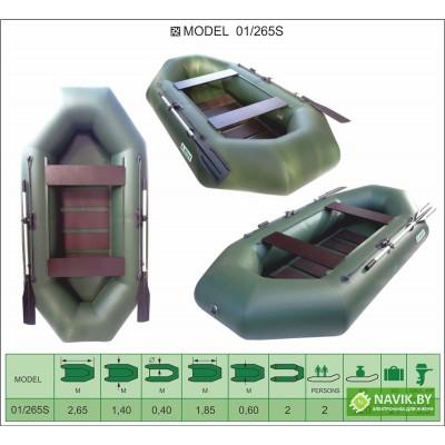Надувная лодка Велес 01/265S