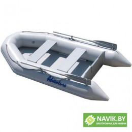 Надувная лодка Adventure Travel II T-290K СЕРЫЙ