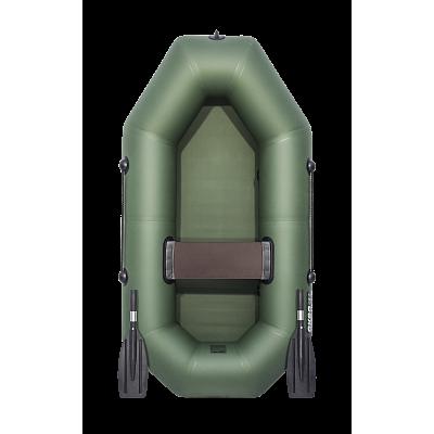 Надувная лодка ПВХ АКВА-ОПТИМА 190 зеленый