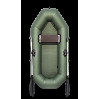Надувная лодка АКВА-ОПТИМА 210 зеленый