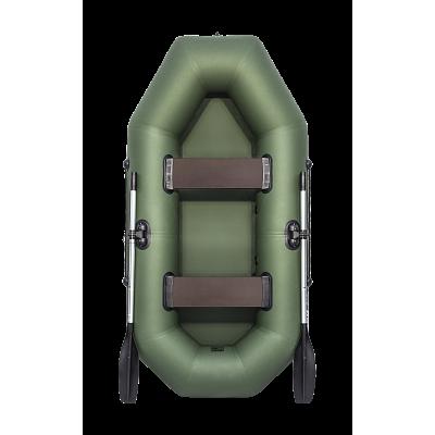 Надувная лодка АКВА-ОПТИМА 240 зеленый