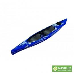 Корпусная лодка Kolibri каяк One-GO сине-белый