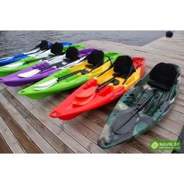 Корпусная лодка Kolibri Каяк onwave-300 green-yellow