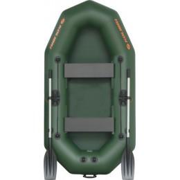 Надувная гребная лодка Kolibri K-250T (Слань-книжка)