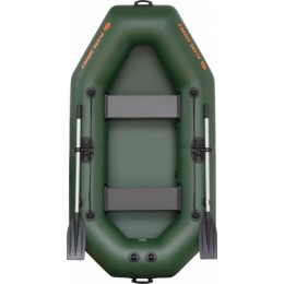 Надувная гребная лодка Kolibri K-260T (Слань-книжка)