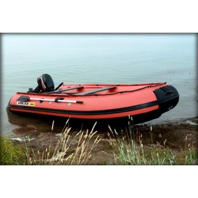 Лодка надувная килевая с транцем SOLAR-380 К Максима