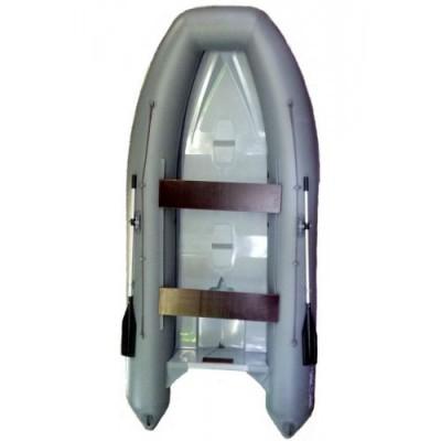 Надувная моторная лодка РИБ WinBoat 390R LUXE