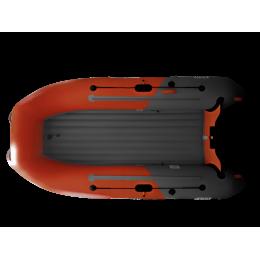 Надувная лодка ПВХ BoatsMan BT320A SPORT графитово-красный