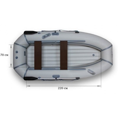 Надувная  лодка ФЛАГМАН 300 NT