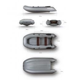 Надувная моторная лодка ФЛАГМАН 320