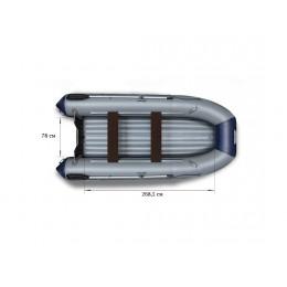 Надувная моторная лодка ФЛАГМАН 380