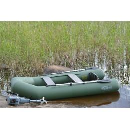 Надувная лодка ПВХ Феникс 285ТС серый