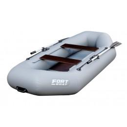 Надувная лодка ПВХ FORT 200 серый