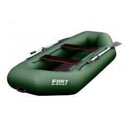 Надувная лодка ПВХ FORT 260 LT оливковый