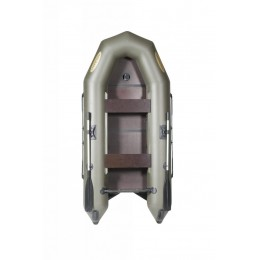 Лодка надувная Лоцман М-290 ЖС киль