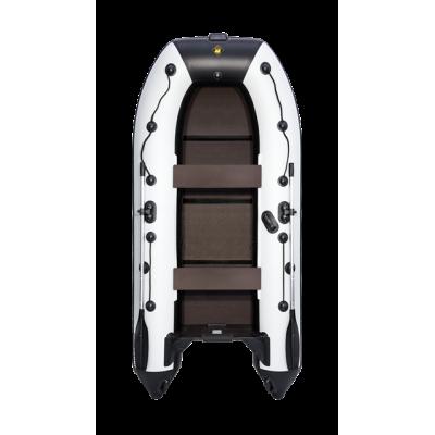 """Надувная  лодка Ривьера Компакт 3200 С """"Касатка"""" светло-серый/черный или зеленый"""