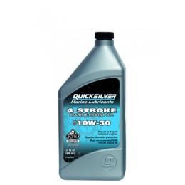 Масла для лодочных моторов Quicksilver 4-Stroke Marine Engine Oil Sae 10W30 1L