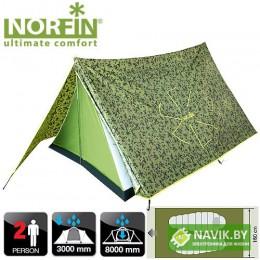Палатка 2-x местная треккинговая Norfin TUNA 2 NC-10103