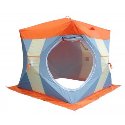 """Палатка Митек """"Нельма Куб 2 Люкс"""" с внутренним тентом"""