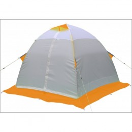Зимняя палатка Лотос 3 оранжевая