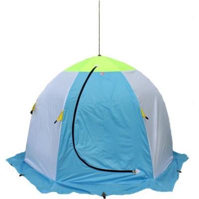 Палатка Медведь-2 утеплённая для зимней рыбалки (6 лучей)