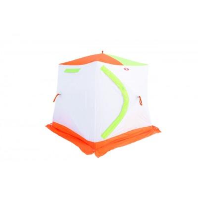 Палатка Медведь Куб-2 утепленная для зимней рыбалки