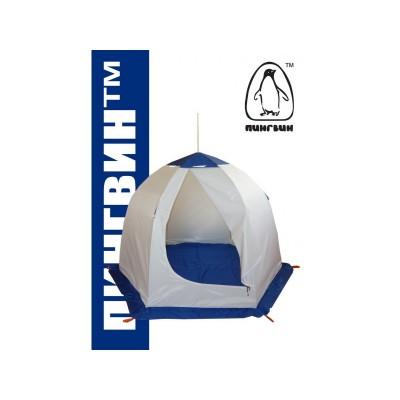 Палатка Пингвин Пингвин 2 (с внутренними порогами и полом) для рыбалки