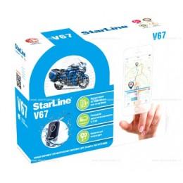 Мотосигнализация StarLine Moto V67 (охранно-телематический комплекс)