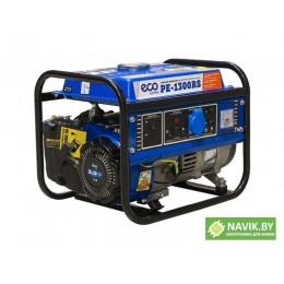 Генератор ECO PE-1300RS (1.1 кВт, 230 В, бак 6.0 л, вес 27 кг)