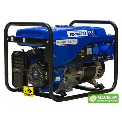 Генератор ECO PE-7000RS (5.5 кВт, 230 В, бак 25.0 л, вес 82 кг)