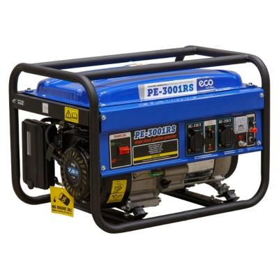 Генератор бензиновый ECO PE-3001RS (2.5 кВт, 230 В, бак 15.0 л, вес 40 кг)