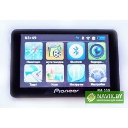 GPS навигатор Pioneer РМ-550 + видеорегистратор