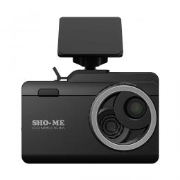 Автомобильный видеорегистратор с антирадаром SHO-ME Combo Slim