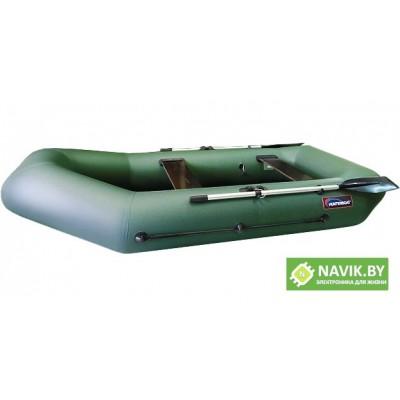 Надувная лодка Хантер 280 Р зеленая