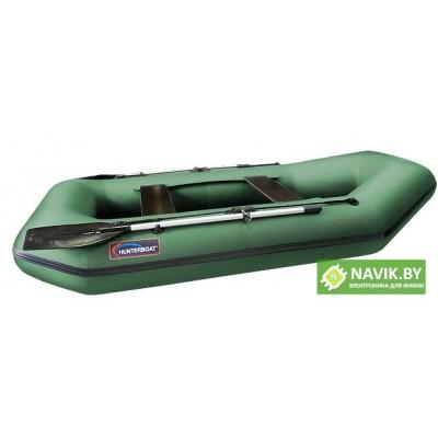 Надувная лодка Хантер 280 Л зеленая