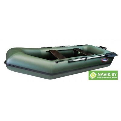 Надувная лодка Хантер 280 ЛТ зеленая