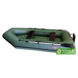Надувная лодка Хантер 280 ЛТН зеленая
