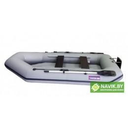Надувная лодка Хантер 300 ЛТН серая