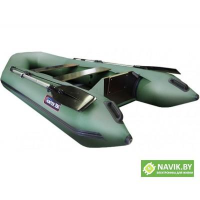 Надувная моторно-гребная лодка Хантер 290 Л