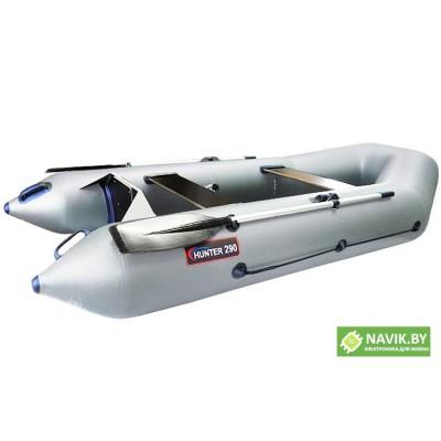 Надувная моторно-гребная лодка Хантер 290 P