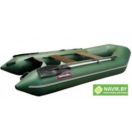 Надувная лодка Хантер 290 ЛК зеленая