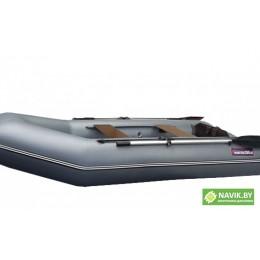 Надувная лодка Хантер 290 ЛК серая