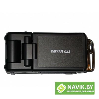 Автомобильный видеорегистратор КАРКАМ QX2 BLACK EDITION